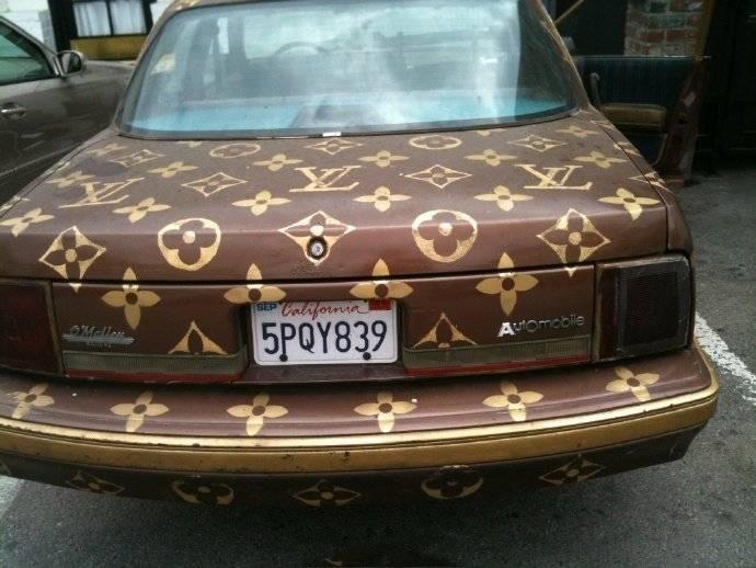 万物皆可LV!如果奢侈品和豪车品牌出联名款,应该长啥样?