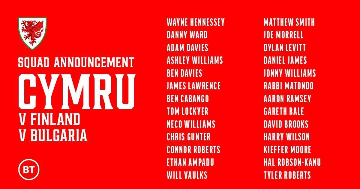 威尔士大名单:贝尔领衔拉姆塞在列 曼联飞翼入选_足球新闻