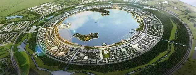 中国最规矩的湖,像用圆规画出来的,周围全是有名的网红景点