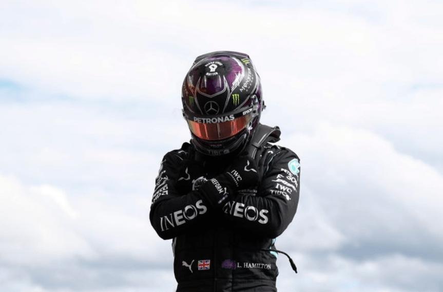 F1比利时站-汉密尔顿夺杆位献黑豹