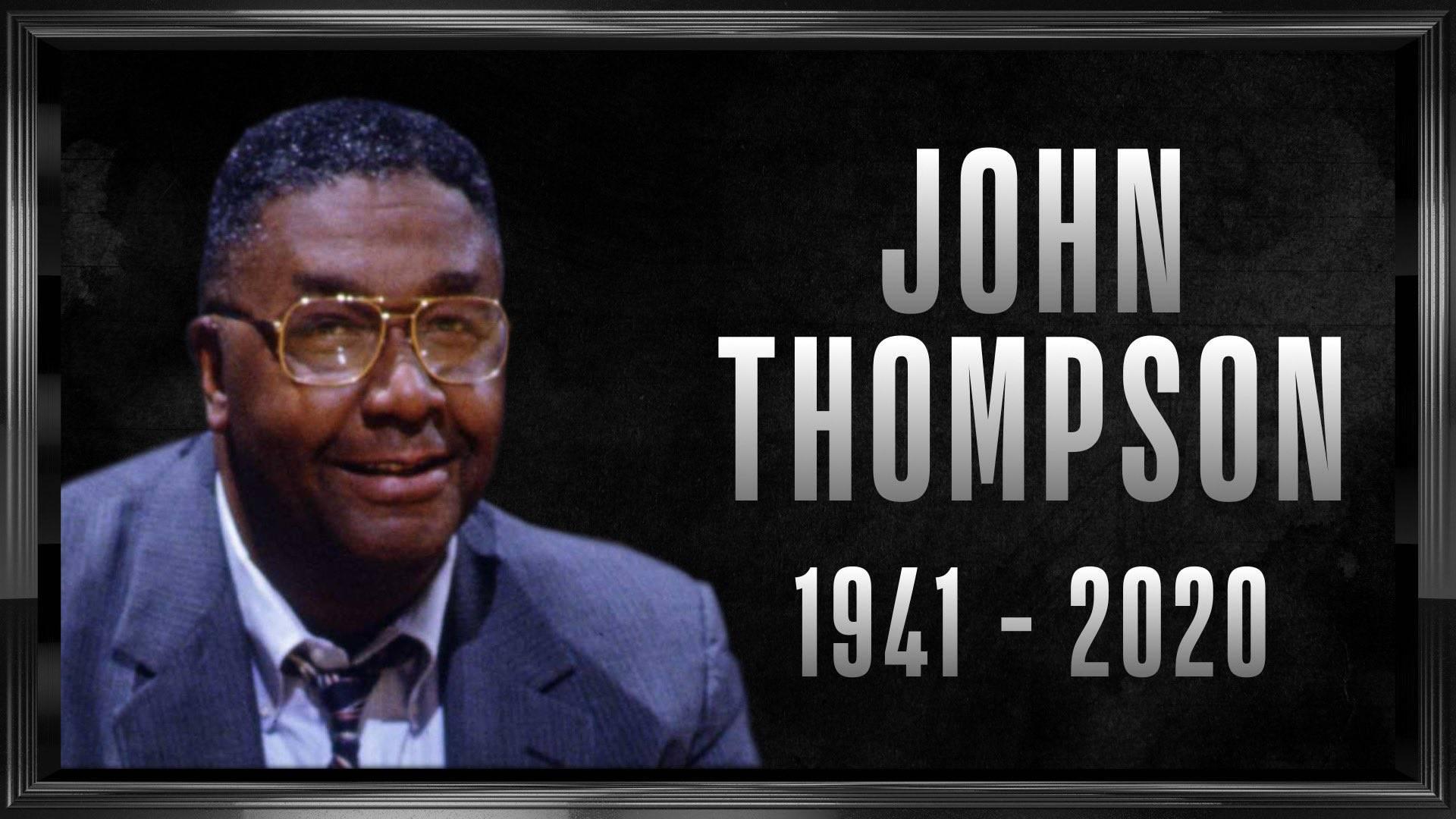 名人堂主帅约翰-汤普森去世 艾弗森发文悼念恩师