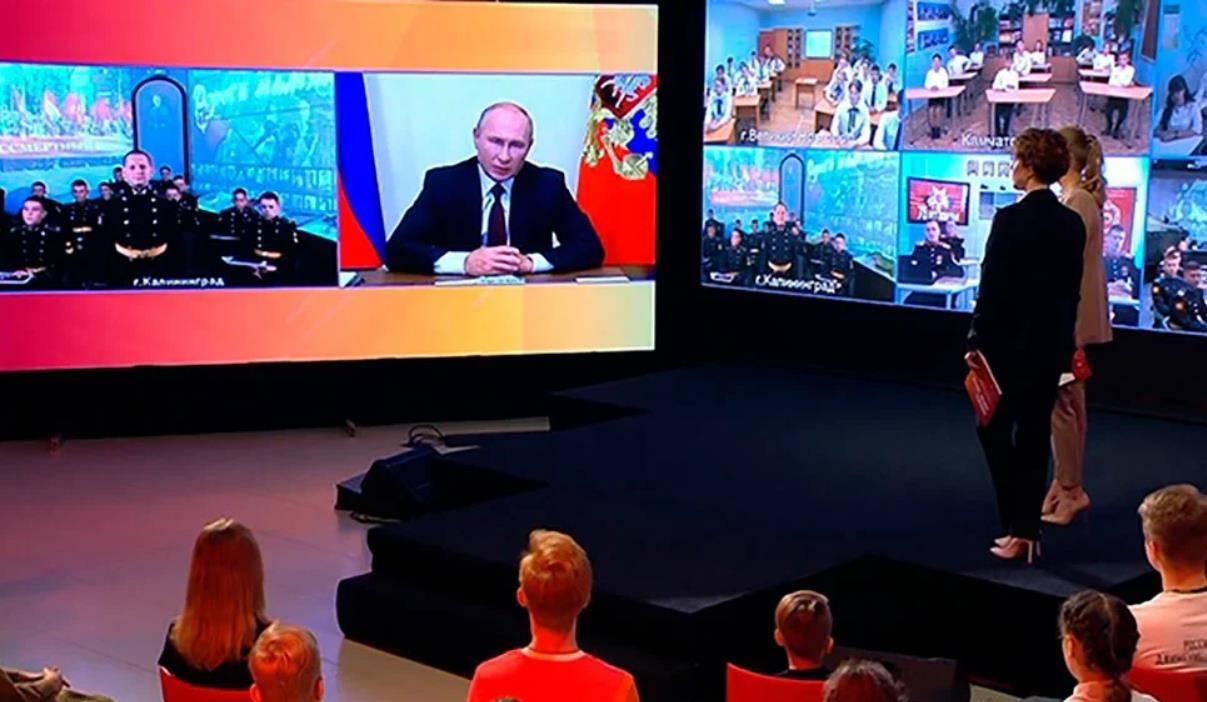 普京告诉中学生:俄罗斯不仅依靠能源出口,更是一个高科技国家