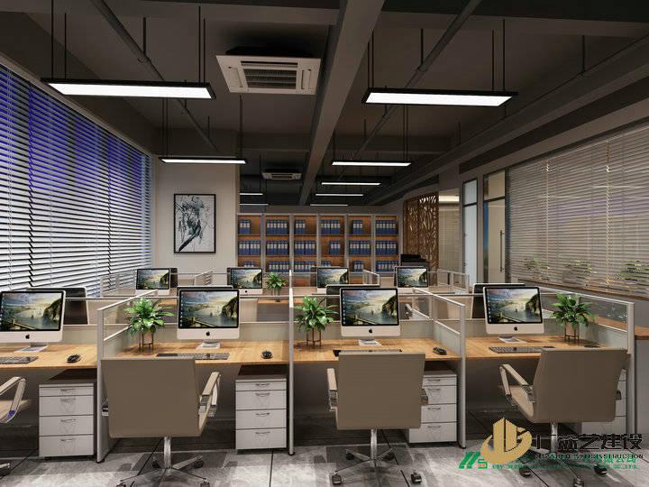四、色彩搭配 深圳办公室装修公司哪家好