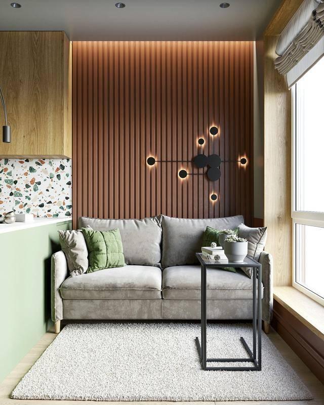 85平北欧风二居室,设计简练、直接、功