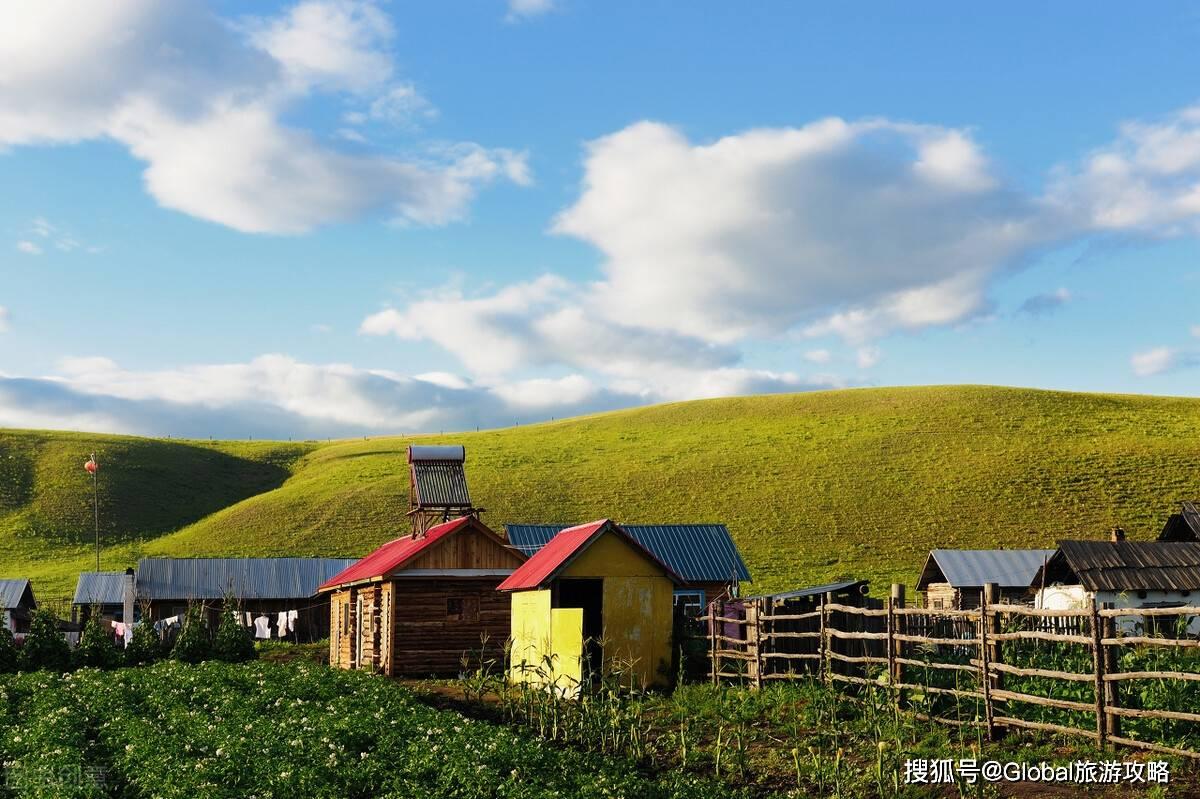 这个国庆,一起去被誉为世界花园的「呼伦贝尔大草原」遇见秋天