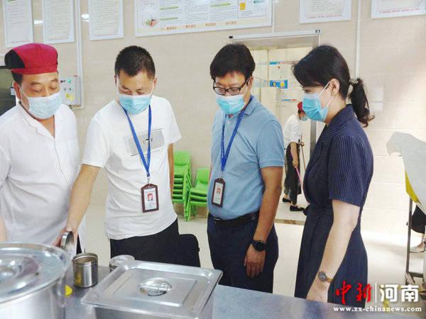 许昌实验幼儿园迎来新学期许昌市食药监