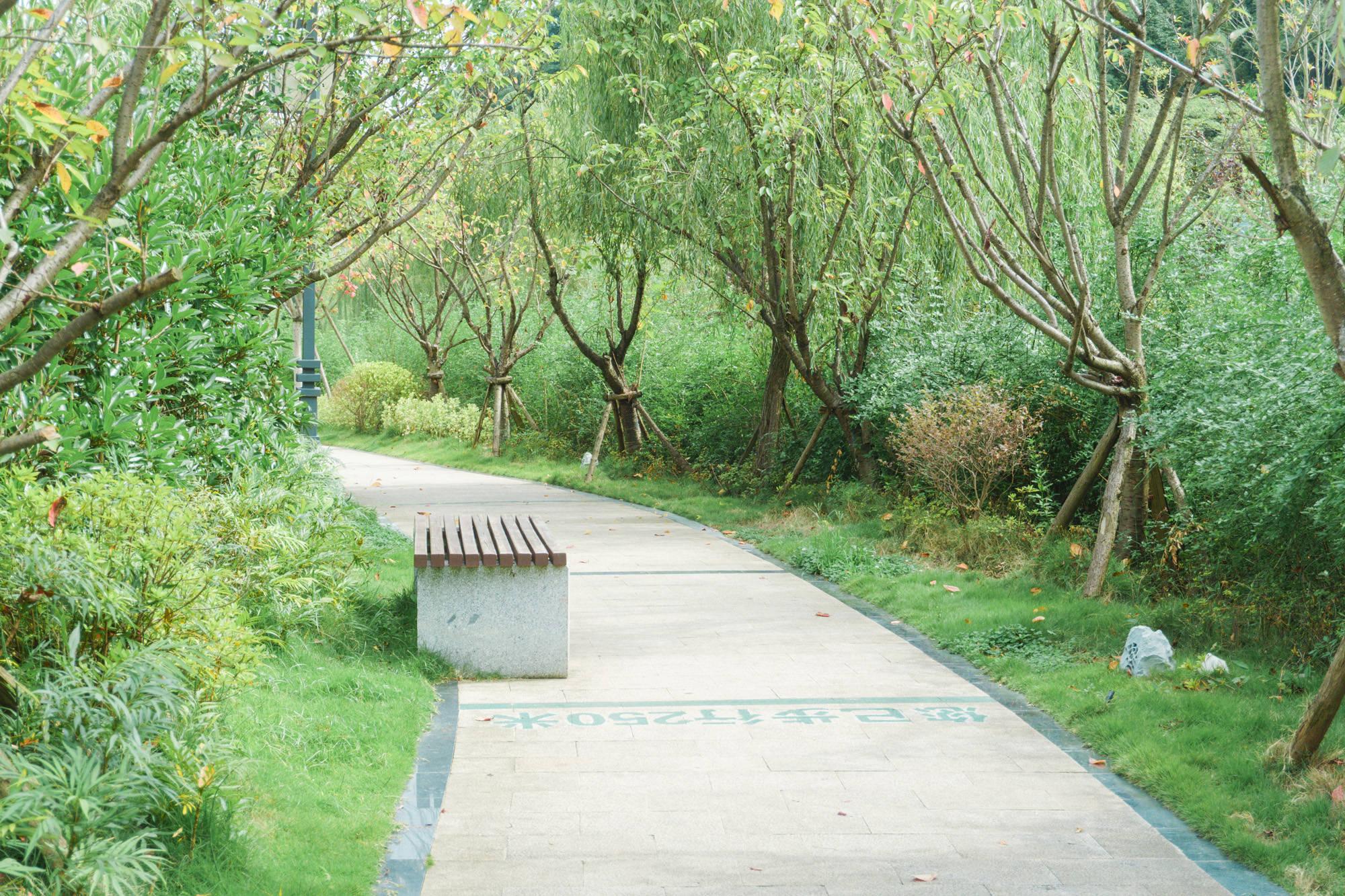 原创             贵阳乌当人闲时消遣、饭后消食的漫步公园,拥有园林式景观美如画
