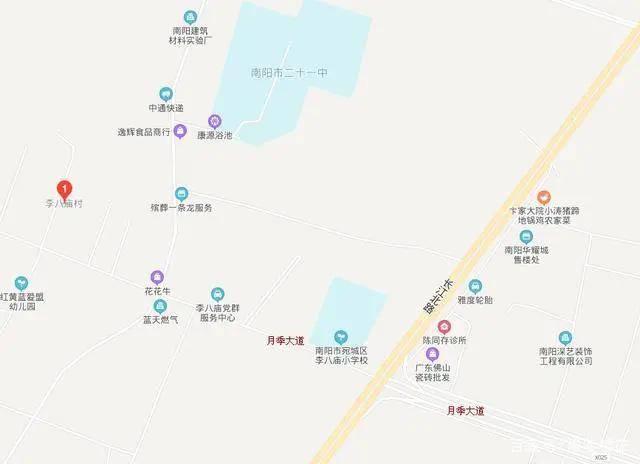 樊庄村位于312国道以东027县道以南东北