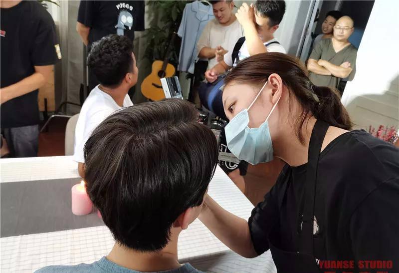 【化妆实践】9.12非诚勿扰招商宣传片拍摄day2