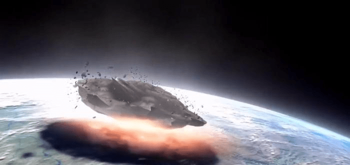 如果一根针以光速撞击地球会发生什么