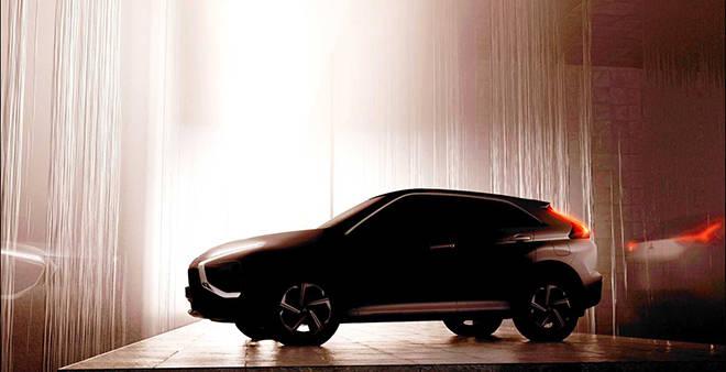 e汽车|新款三菱EclipseCross预告图曝光