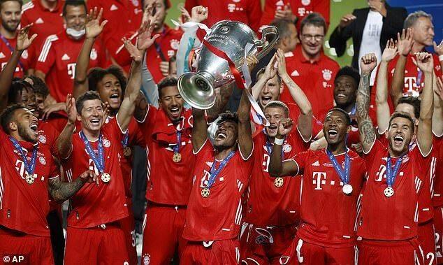 欧冠各位置最佳候选:拜仁12占7 梅西C罗