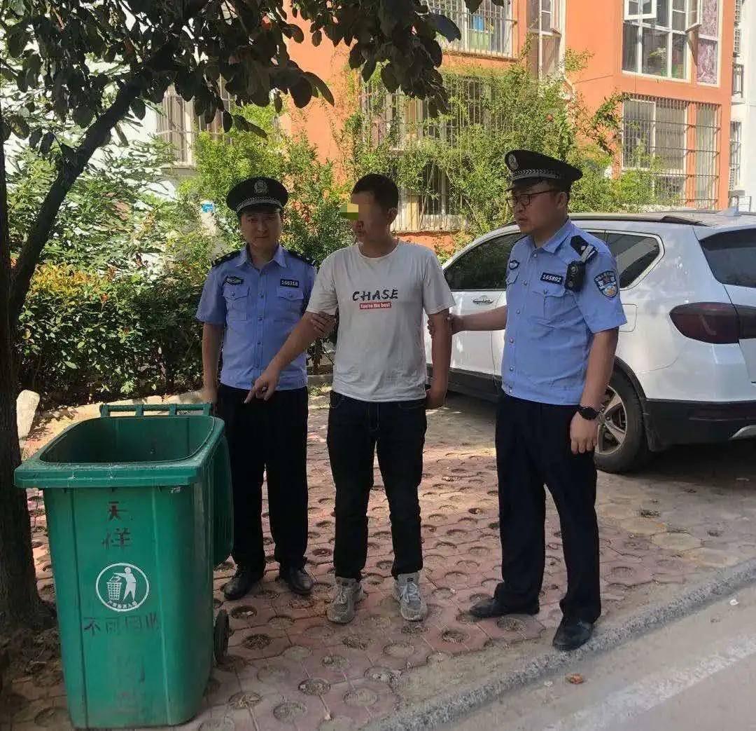 商丘公安局新城分局:男子盗窃改装电动摩托车被抓获