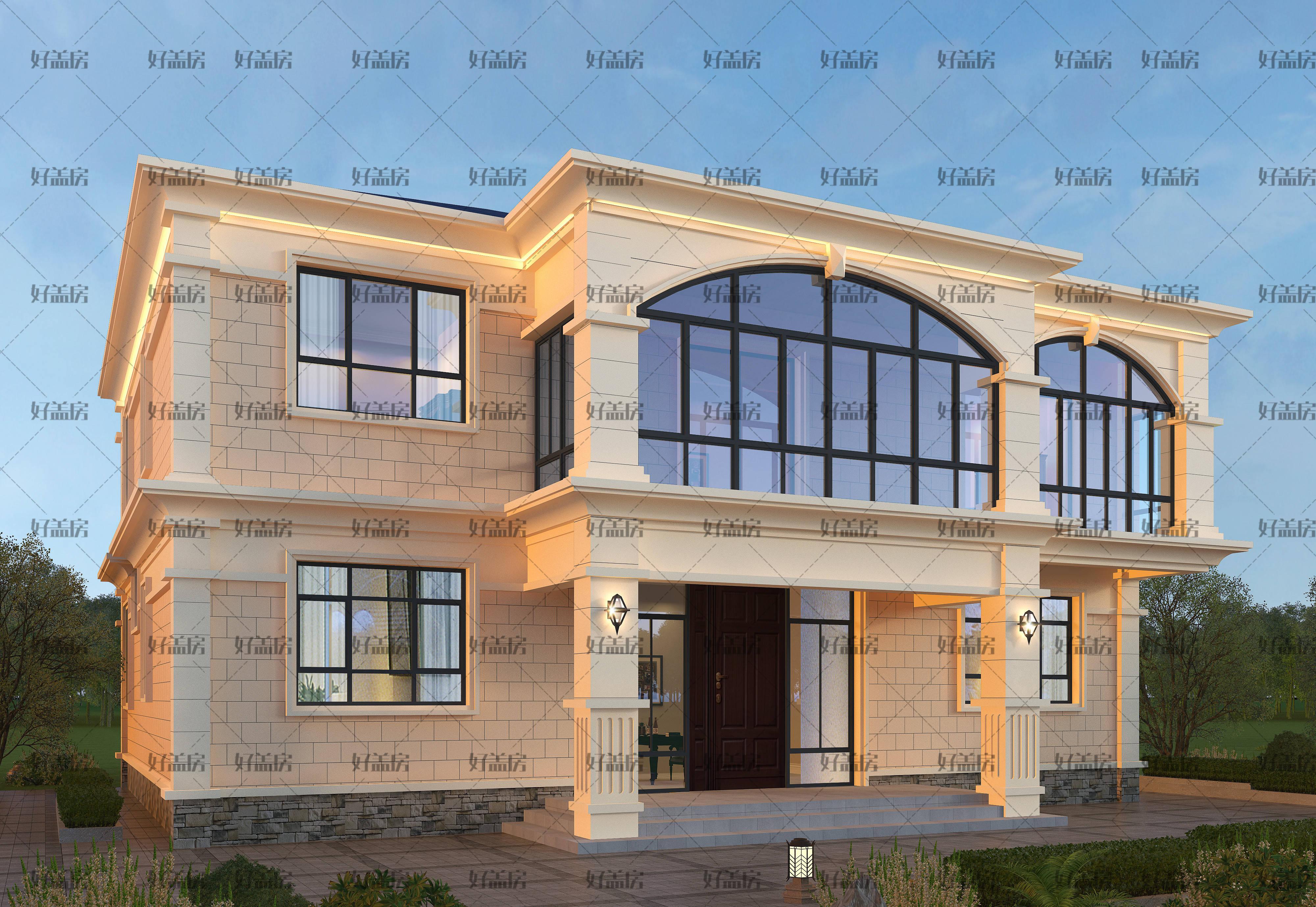 二楼房子设计图