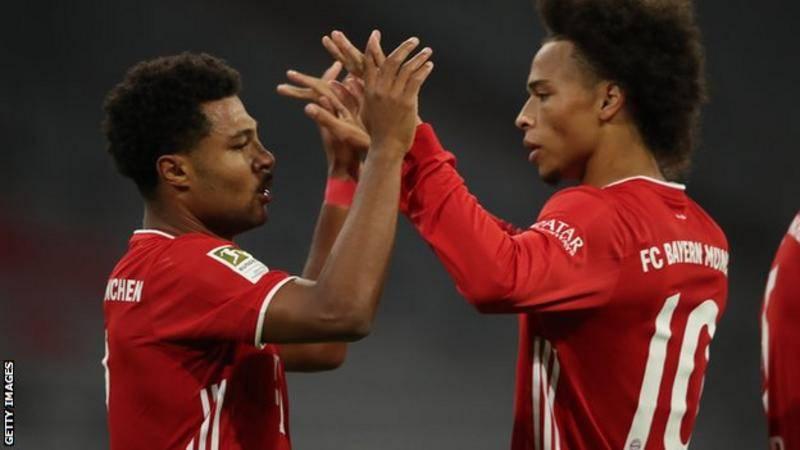 在首场比赛中,拜仁得了8分 巴萨对拜仁