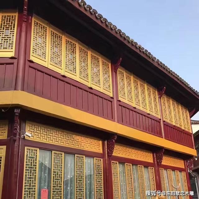 仿古门窗是铝合金还是木头做的?