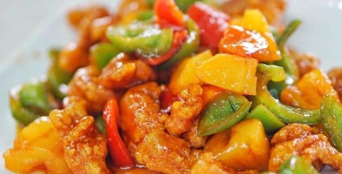 广东咕噜肉,酸酸甜甜的鲜味家常菜,只要一块肉就能激起你的食欲