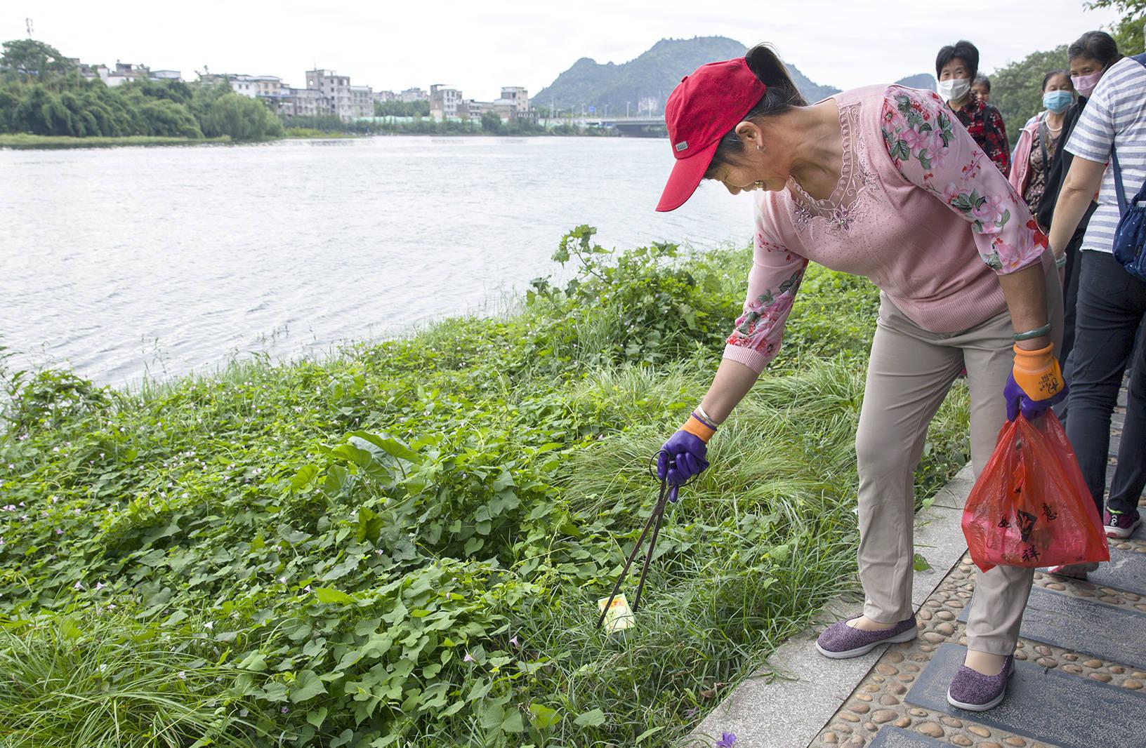 美丽的漓江马是桂林人的母亲,河流是全
