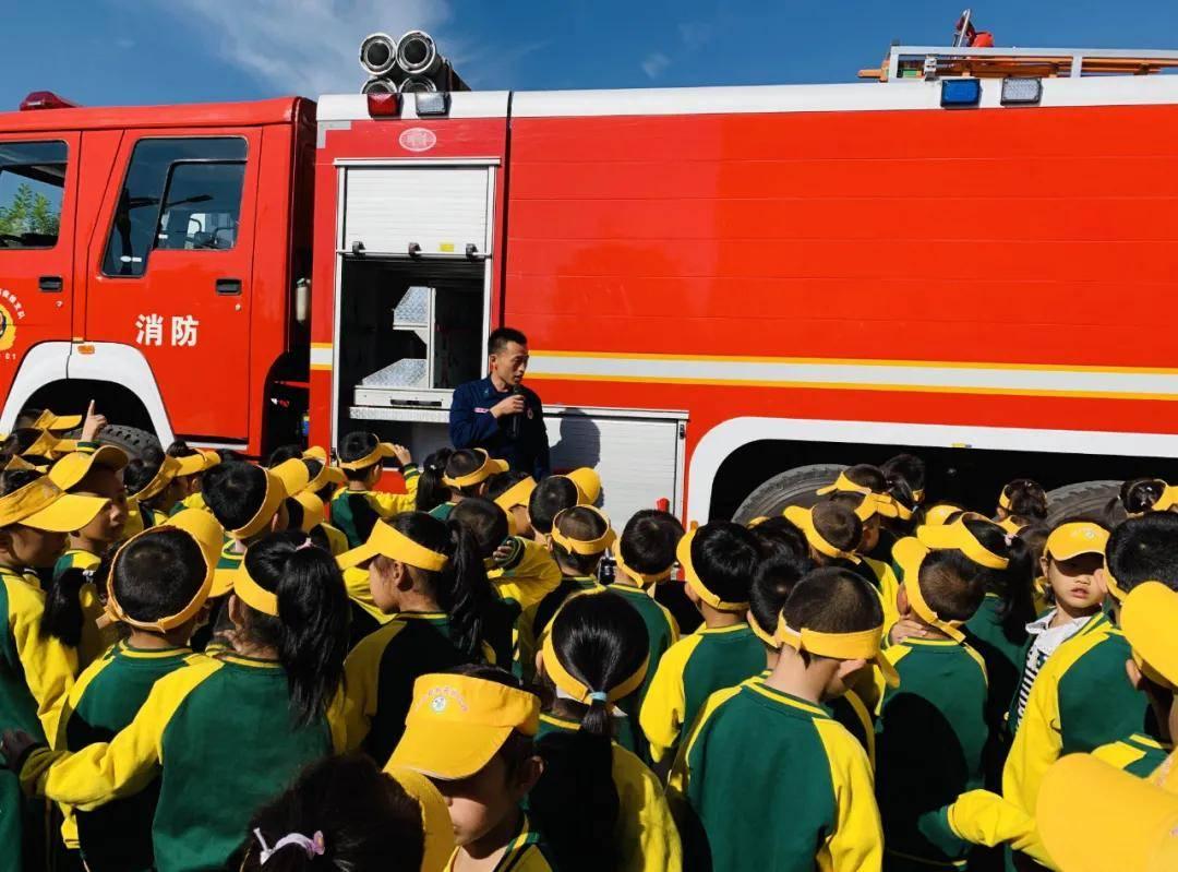 9月17日上午,沁源消防救援大队开展消防科普教