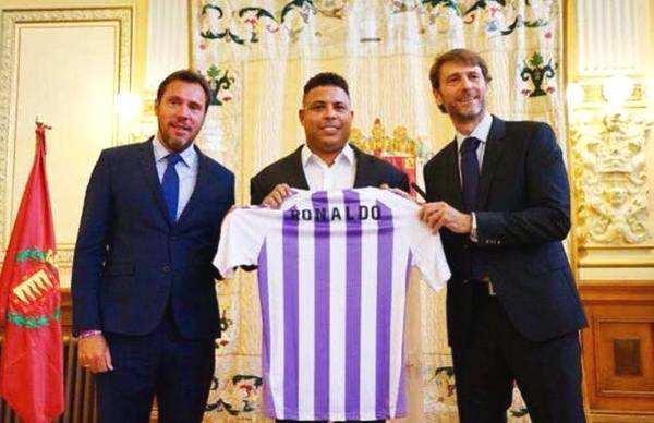 莫拉蒂:罗纳尔多在球队老板中第一专业,而巴拉多利德还是小球会