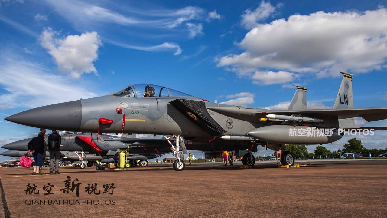 从不扔火箭弹,F-15C简单直接只为空战,不可轻视的重型三代机