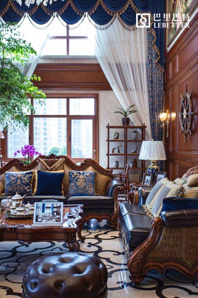 用经典的美式家具诠释别墅里的优雅时光
