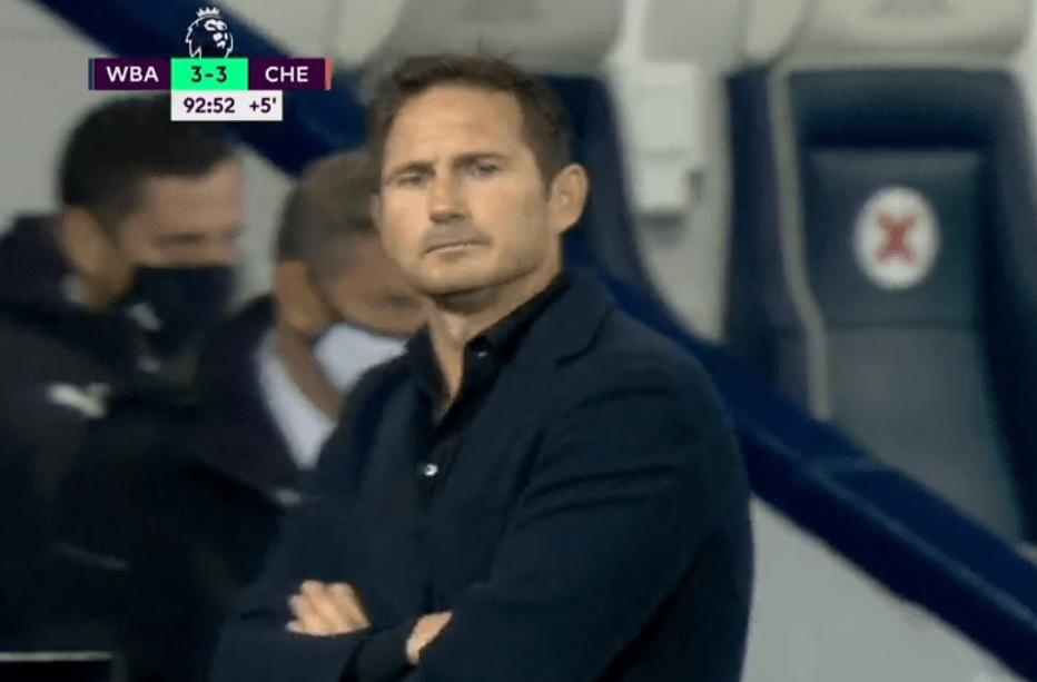 切尔西3-3战平升班马西布朗,球队下半场连追3
