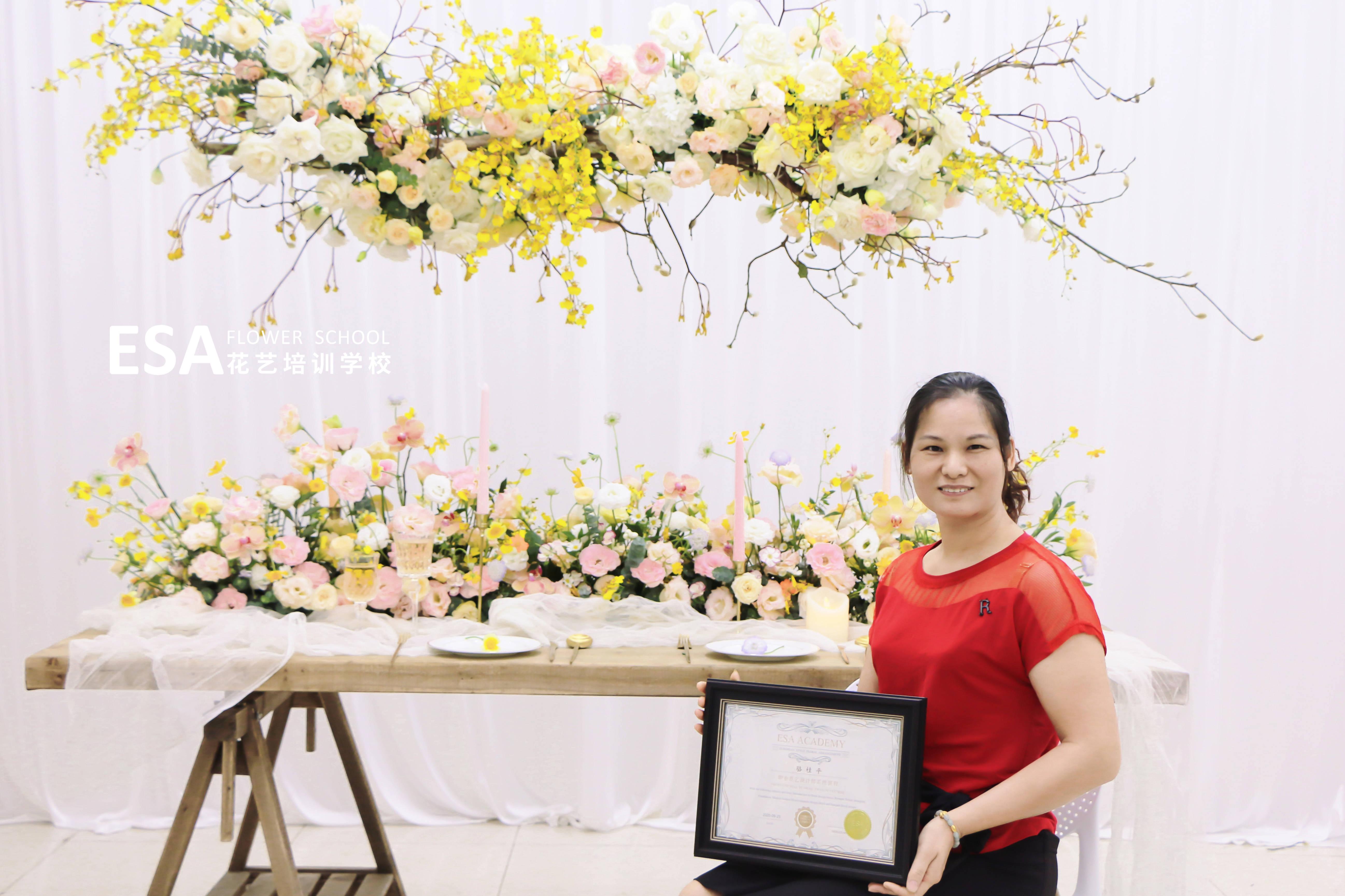 宴会花艺部署 花艺装置