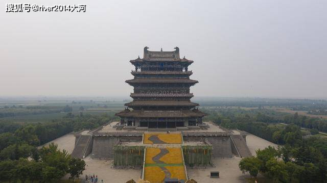 四大名楼之一的鹳雀楼,曾消失700多年,因古诗而扬名