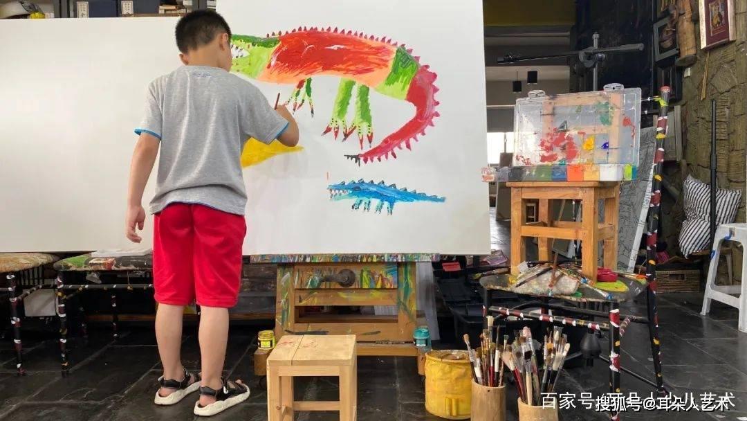 告诉你一个秘诀,让孩子今后喜欢上画画