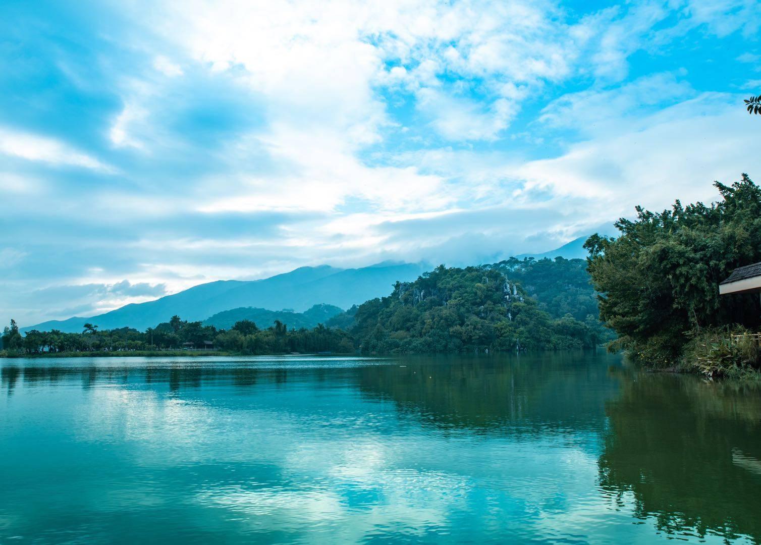 原创             肇庆的城市之肾,生态环境优越,是百鸟天堂,还被称为南方的鸟岛