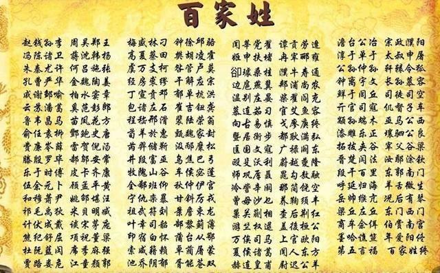 历史上从未衰败的三大姓氏,兴盛了3000多年,有你的姓氏吗?