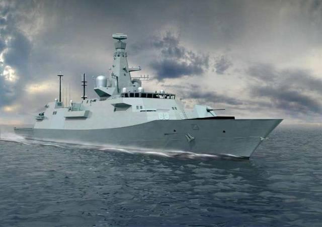 新英体育网:英国26型护卫舰酷炫醒目 与中国054B相比如何?