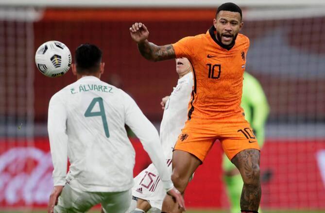 热身赛-希门尼斯点射德佩中柱 荷兰0-1不敌墨西哥