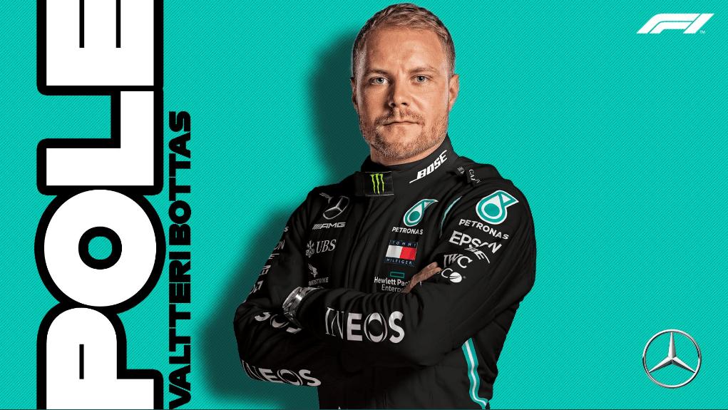F1艾菲尔站博塔斯夺杆位 乐扣第4维特尔停步Q2