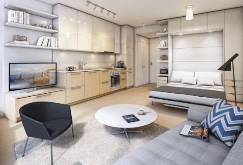 原创 心理测试:4套公寓,你最想住哪个?测你将来会在哪方面最风光