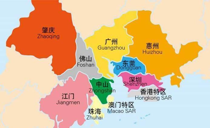 佛山 gdp_佛山地图