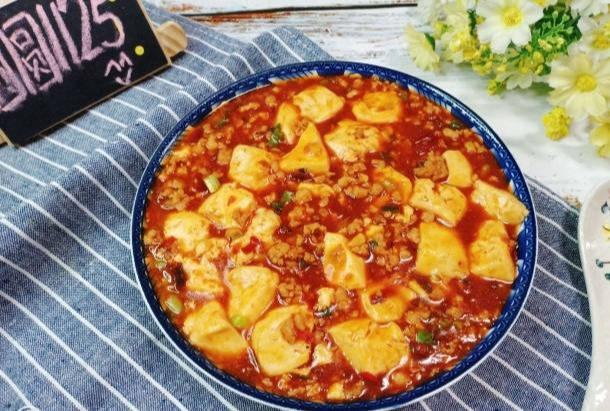 麻婆豆腐才是下饭神器鼻祖,麻辣过瘾。