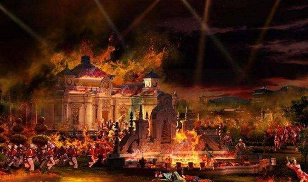 圆明园并不是被一把火就烧光了?1860年10月13日圆明园被掠夺