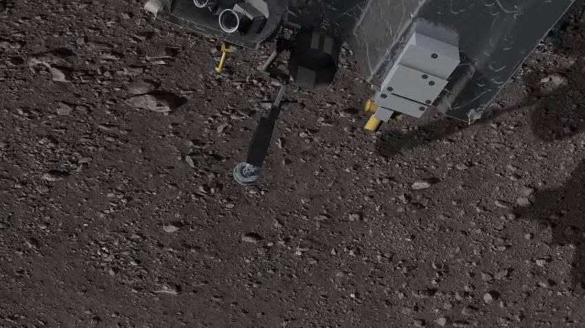 干得漂亮!美飞船短暂触碰3.33亿公里外小行星,完成采矿任务