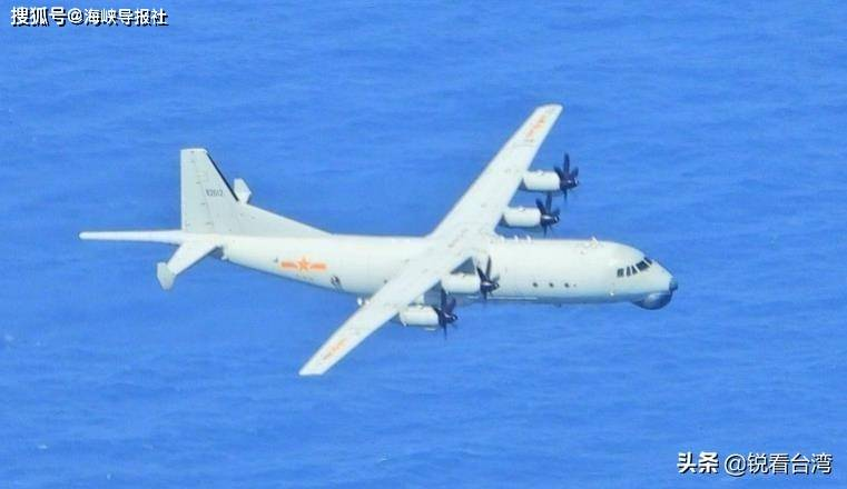 绿媒惊叹:解放军军机不怕台风,今天上午2度巡航台湾西南空域