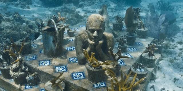 葬在海底博物馆:游客不会潜水白浪费400门票,每年吸引百万游客