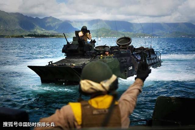 """演练夺取中国岛礁,美军搞了个""""跳岛""""战略,中国军队岂能容你"""