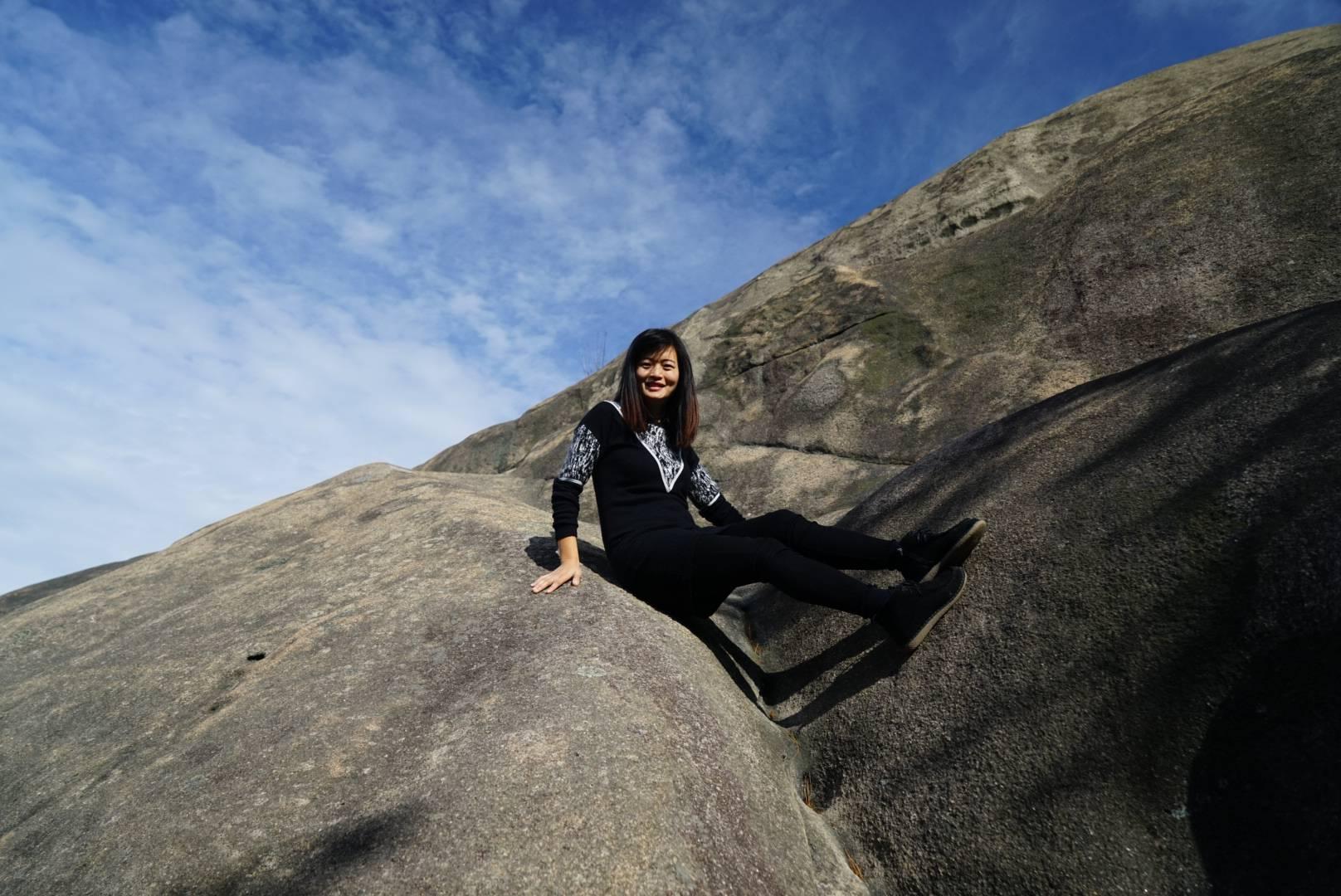 秋日登山望远,在温州的你,不可错过大罗山的田螺背