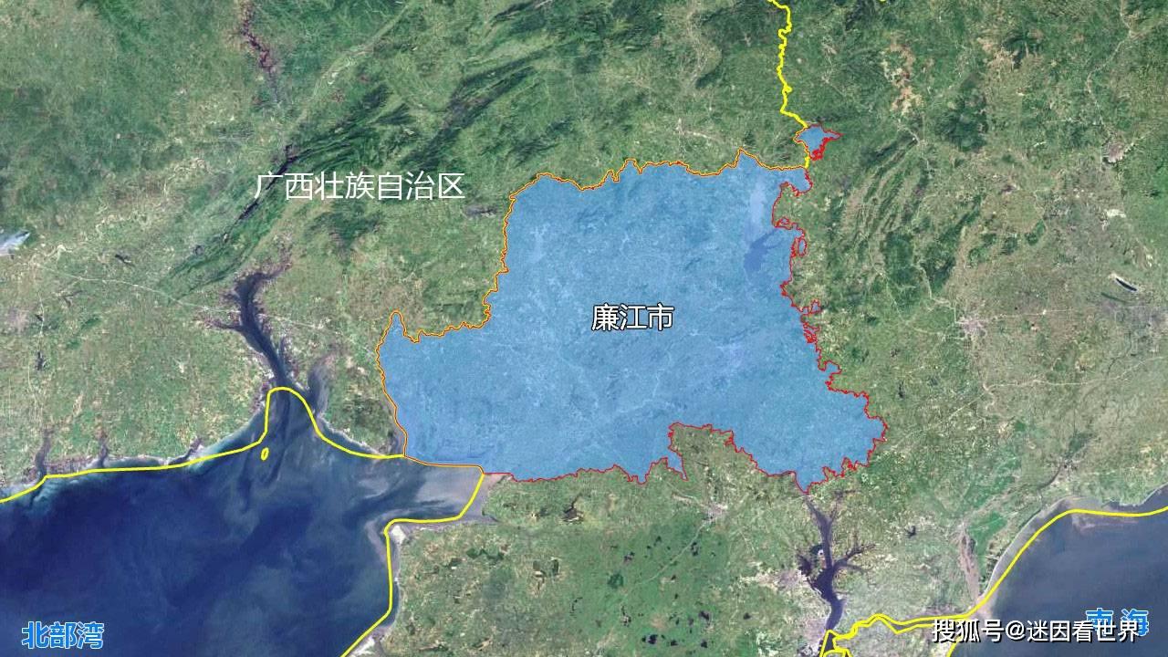湛江市人口与面积_湛江市地图(3)