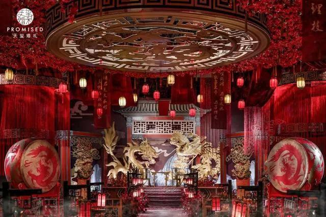一场以红色为主色调的汉代周制婚礼