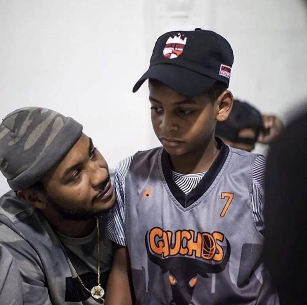 见过甜瓜儿子打球吗?基杨能不能在NBA打球是五年后的事
