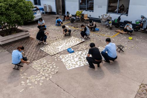 """中国银行临沂兰山支行来了一笔""""大业务"""""""