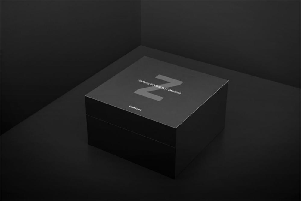 三星与张天爱再度合作 三星Galaxy Z Fold2 5G限量礼盒神秘感满满