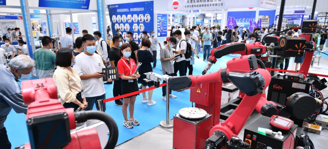 天津工博会-机器人展打造一站式商贸展示平台